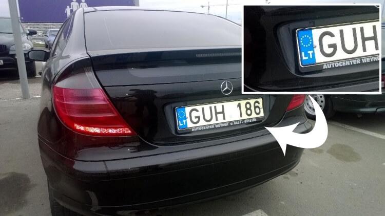 Пригон автомобиля из Литвы под заказ