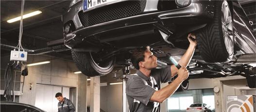 Проверка состояния ходовой части автомобиля1