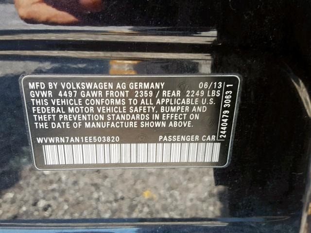 2014 VOLKSWAGEN CC LUXURY авто из США full