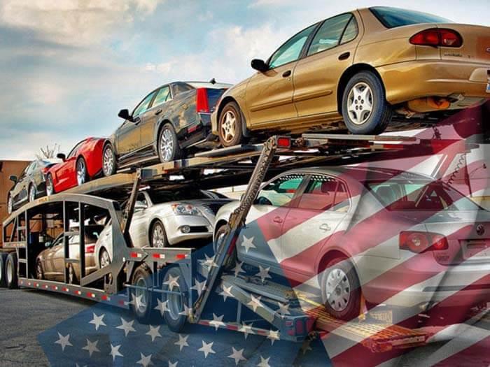Битое авто из США